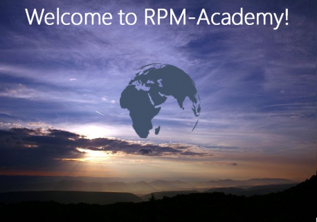 Welcome to RPM-Academy Online (A000)