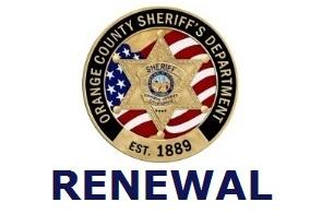 2019 Orange County CCW - Renewal