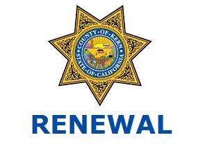 2019 Kern County CCW - Renewal