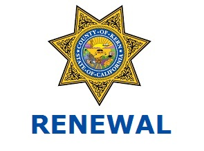 2020 Kern County CCW - Renewal