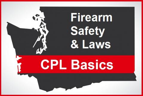 WA CPL: Firearm Safety & Laws