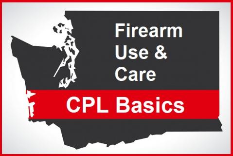 WA CPL: Firearm Use & Care