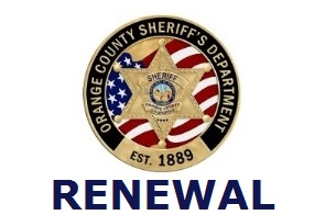 2021 RENEWAL Orange County CCW