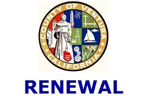 2021 RENEWAL Ventura County CCW