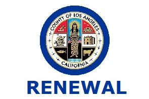 2021 RENEWAL LA County CCW