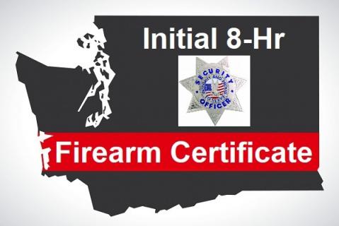 2021 WA Firearm Certificate Initial