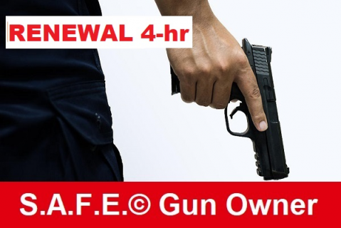 CCW Renewal (4-hr) - Safety First