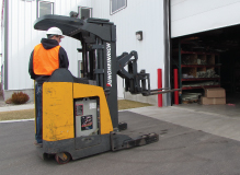 Stand Up Forklift Safety - CANADA