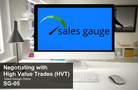 SG5-eLearning: Negotiation and High Value Trades (PSG5-SGGG)