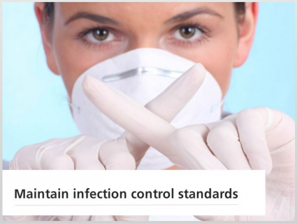 Maintain Infection Control Standards (SHIMIC003)