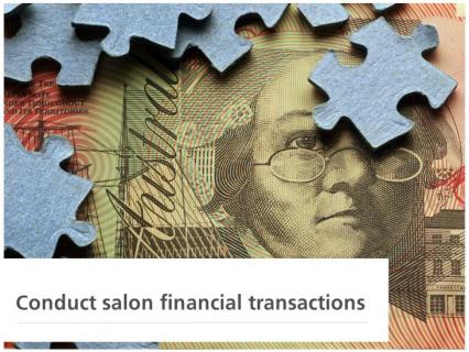 Conduct Salon Financial Transactions (SPICSF004)