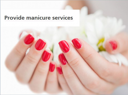 Provide Manicure Services (SPIPMS008)