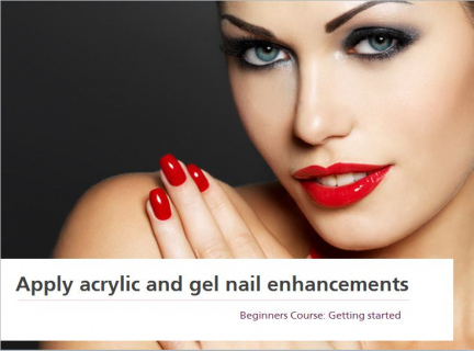 Acrylic & Gel Nails - Beginner Course (SPIAGN010)
