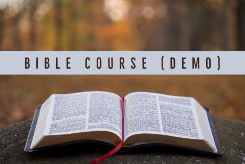 Ben's Bible Course - Demo