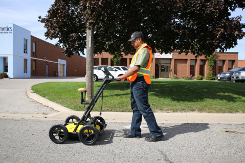Utility Locating with GPR (Nulca-accredited)