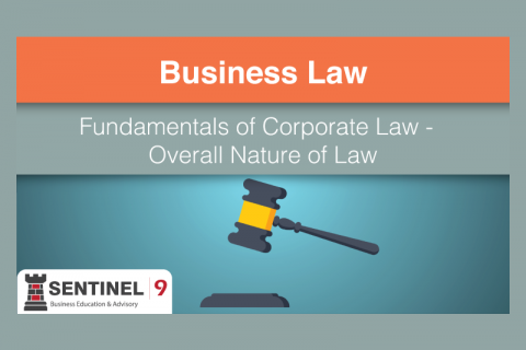 Fundamentals of Corporate Law / Overall Nature of Law (G_S4M1)