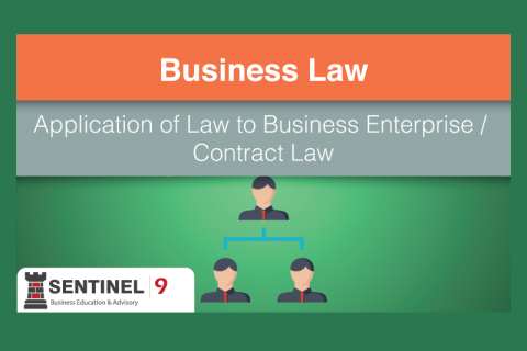 Application of Law to Business Enterprise / Contract Law (G_S4M2)