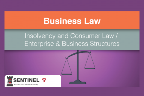 Insolvency and Consumer Law / Enterprise & Business Structures (G_S4M3)