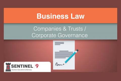 Companies & Trusts / Corporate Governance (G_S4M4)