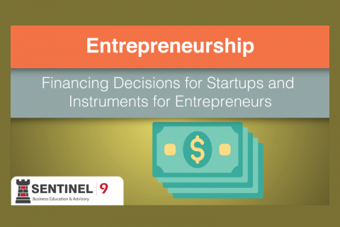 Financing Decisions for Start-ups and Instruments for Entrepreneurs (J_S9M4)