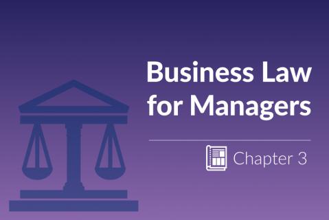 Consumer Law / Enterprise & Business Structures | Chapter 3 (ZG_4.3)