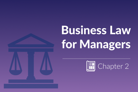 Application of Law to Business Enterprise / Contract Law | Chapter 2 (ZG_4.2)