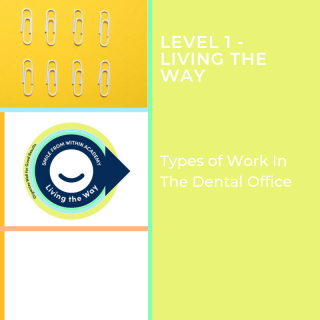 L1: The Types Of Work That You'll Preform In The Dental Office (L1-V3.L1)