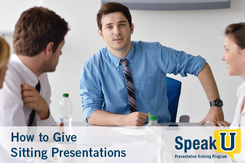 How to Give Sitting Presentations