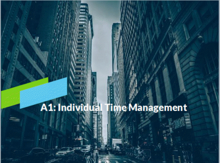 A1-4: Time Management (Course+SME) (A102)