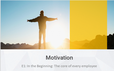 E1-4: Motivation Leadership (Course) (E101)