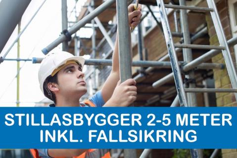 Stillasbygger 2 - 5 meter inkl. fallsikring