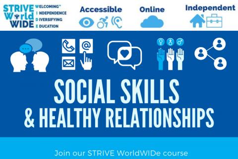Social Skills & Healthy Relationships (10/25/21 7 PM EST)