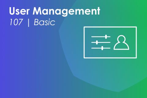 Module 107 | User Management