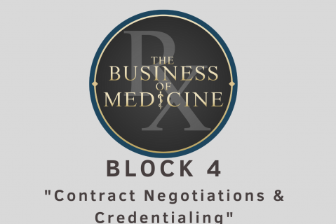 Block 4 Contract Negotiations & Credentialing (B04RxTBOM)