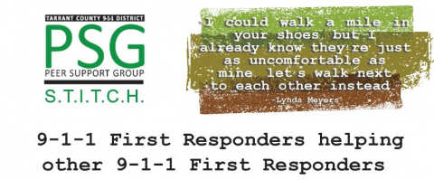 TC911 Peer Support Group Orientation (03/06/2020)