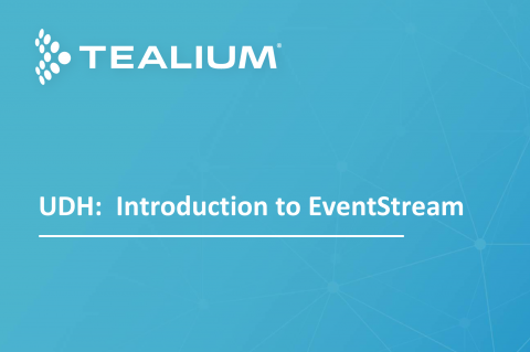 5. UDH: Introduction to EventStream