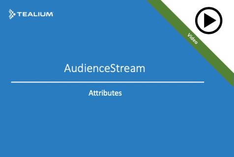 Video - AudienceStream Attributes - Array of Strings