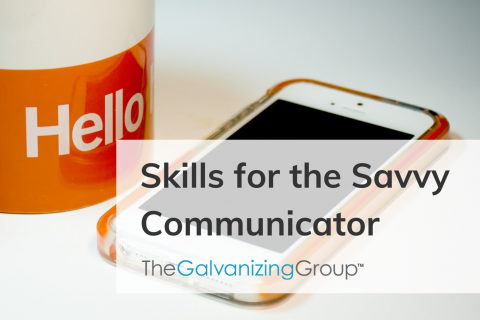 Skills for the Savvy Communicator (027)