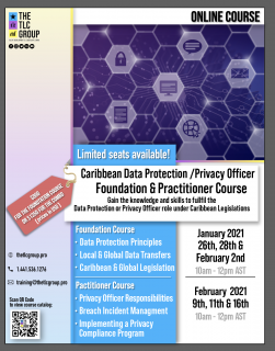Caribbean Data Protection/ Privacy Officer Foundation and Practitioner Combo (CPO01)