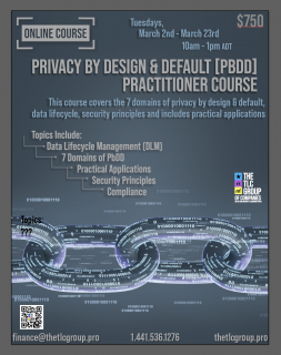 Privacy By Design and Default Practitioner (PBDD1)
