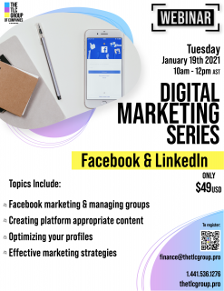 Digital Marketing Series: Facebook & LinkedIn (DMS2)