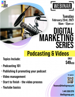 Digital Marketing Series: Podcasting & Videos (DMS6)