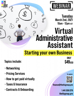 Virtual Administrative Assistant: Starting your own Business (DMS8)