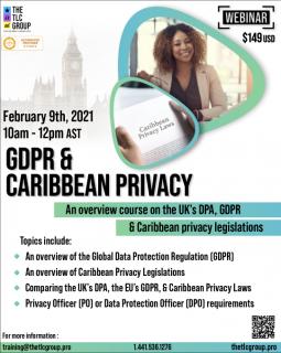 GDPR & Caribbean Privacy (GDPR1)
