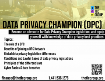 Data Privacy Champion (DPC2)