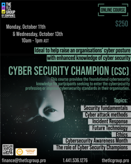 Certified Cyber Security Champion (CSC2)