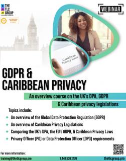 GDPR & Caribbean Privacy (GDPR2A)