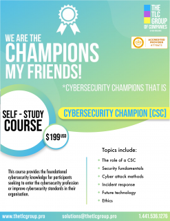Certified Cyber Security Champion Self-Study (CSCS)