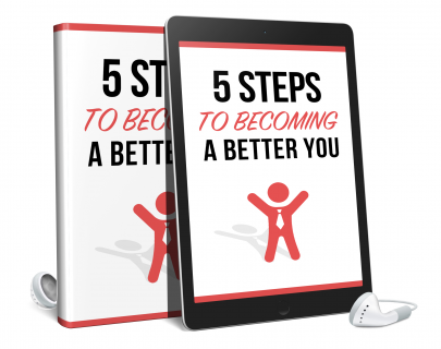 5 Steps to Become a Better You AUDIO BOOK (AB0001)