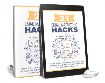 21 Email Marketing Hacks AUDIO BOOK (AB0005)